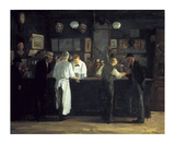 McSorley's Bar Premium Giclee Print by John Sloan