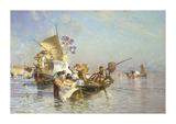 Napoli Premium Giclee Print by Edoardo Dalbono