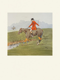 The Right Man on The Wrong 'Oss Premium Giclee Print by  Snaffles