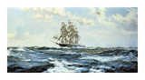 The 'Mary Whitridge' Clipper Premium Giclee Print by Montague Dawson