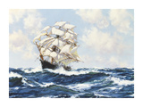Swinging Along Premium Giclee Print by Montague Dawson