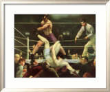 Dempsey contre Firpo Posters par George Wesley Bellows