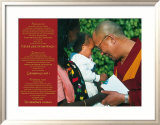Dalai Lama: Never Give Up on Peace Prints