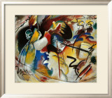 Bild Mit Weiber Form Posters by Wassily Kandinsky
