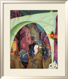 The Green Bridge II Print by Lyonel Feininger