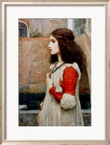 Juliette Affiche par John William Waterhouse