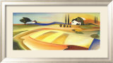 Fields of Tuscany Art by Heinz Kirchner