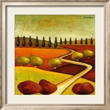 Roads IV Kunstdrucke von Stacy Dynan