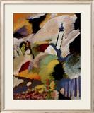 Chiesa di Murnau, 1910 Poster di Wassily Kandinsky