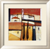 Village at Sunset Prints by Nicola Resmini