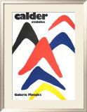 Stabiles, 1971 Posters par Alexander Calder