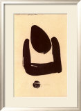 37 Pollination Symbol I (Cista), c.1937 Prints by Julius Bissier