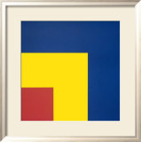 Red, Yellow and Blue, 1963 Posters par Ellsworth Kelly