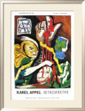 Retrospektive Posters by Karel Appel