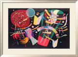 Komposition X, 1939 Print by Wassily Kandinsky