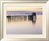 Old Wharf at Dawn Prints by Rezendes