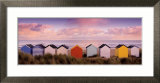 Winter Beach Huts, Southwold Prints by Rod Edwards