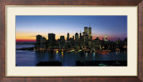 New York Skyline Affiches van Richard Berenholtz