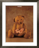 Campbell with Bear Posters par Anne Geddes