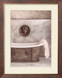 Baignoire Affiche par Lilo Raymond