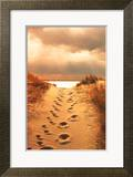Footprints in the Sand Posters by Jane Vollers
