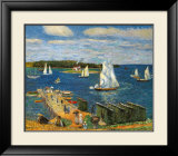 Mahone Bay, 1911 Prints by William Glackens
