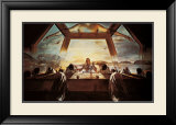 The Sacrament of the Last Supper, c.1955 Posters by Salvador Dalí