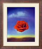 The Meditative Rose, 1958 Posters par Salvador Dalí