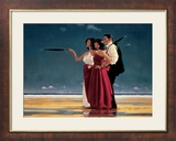 The Missing Man I Print by Jack Vettriano
