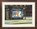La pharmacie Art par Edward Hopper