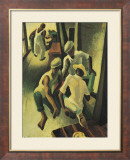 The Crapshooters Prints by Thomas Hart Benton