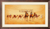 Caravan Route Prints by Leon Wells
