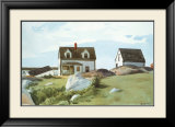 Houses Of Squam Light Poster par Edward Hopper