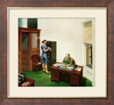 Office at Night Art par Edward Hopper