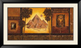 Egyptian Lounge Art by Claudia Ancilotti