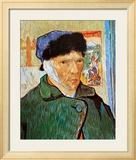 Self-Portrait with Bandaged Ear, c.1889 Plakater af Vincent van Gogh