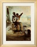 The Banjo Lesson Print by Henry Ossawa Tanner