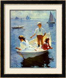 Calm Morning Print by Frank Weston Benson