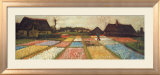 Flower Beds in Holland, c.1883 Prints by Vincent van Gogh