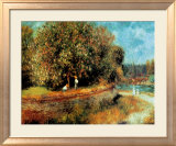 Chestnut Tree in Bloom Prints by Pierre-Auguste Renoir