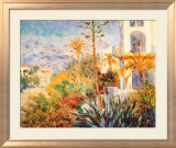 Bordighera Affiche par Claude Monet