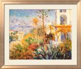Bordighera Affiche par Claude Monet