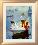 Calm Morning Prints by Frank Weston Benson