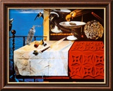 Nature morte vivante Art par Salvador Dalí
