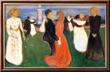 Dance of Life, 1900 Posters by Edvard Munch