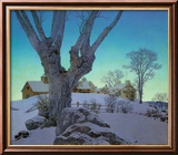 Hill Top Farm Prints by Maxfield Parrish