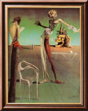 Woman with a Head of Roses Posters by Salvador Dal&#237;