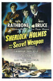 Sherlock Holmes and the Secret Weapon Prints