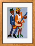 Blind Singer Affiches par William H. Johnson