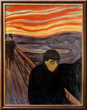 Despair, 1894 Affiches par Edvard Munch
